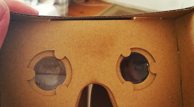 Google Cardboard: Inexpensive VR for the Classroom