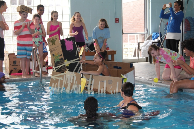 A Cardboard Regatta: Seeing if Cardboard Can Float